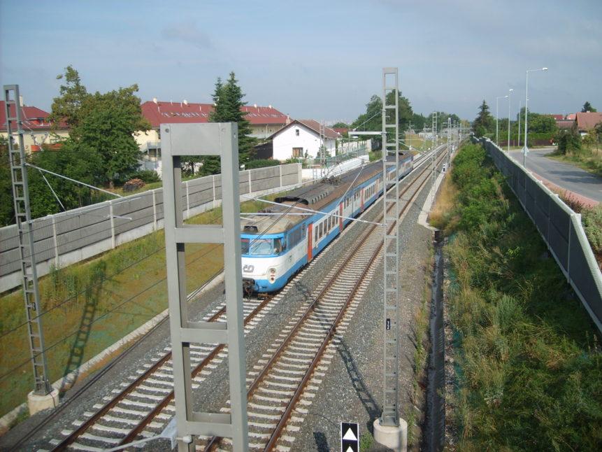 Free photo: Train in Czech republic