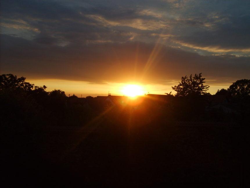 Free photo: sunset