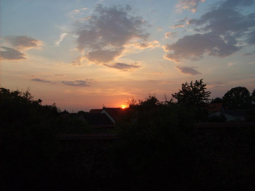 Free photo: Sunset Prague