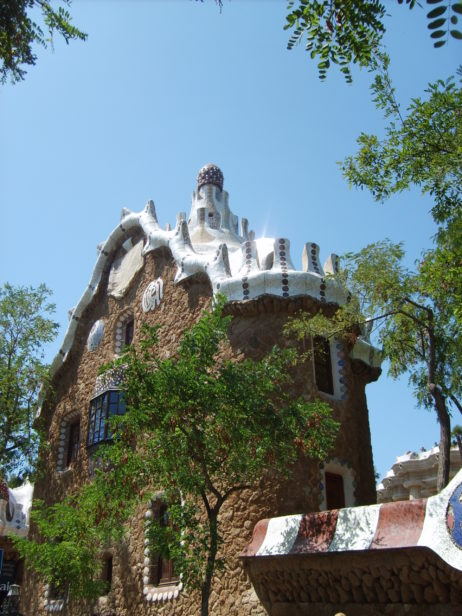 Building in Park Güell