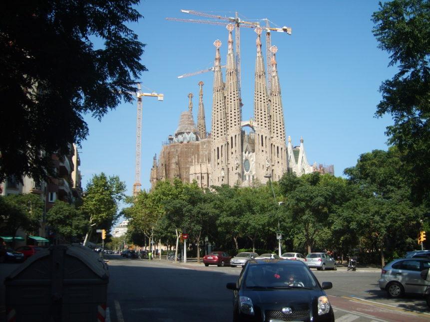 Free photo: Sagrada Família, Antoni Gaudí