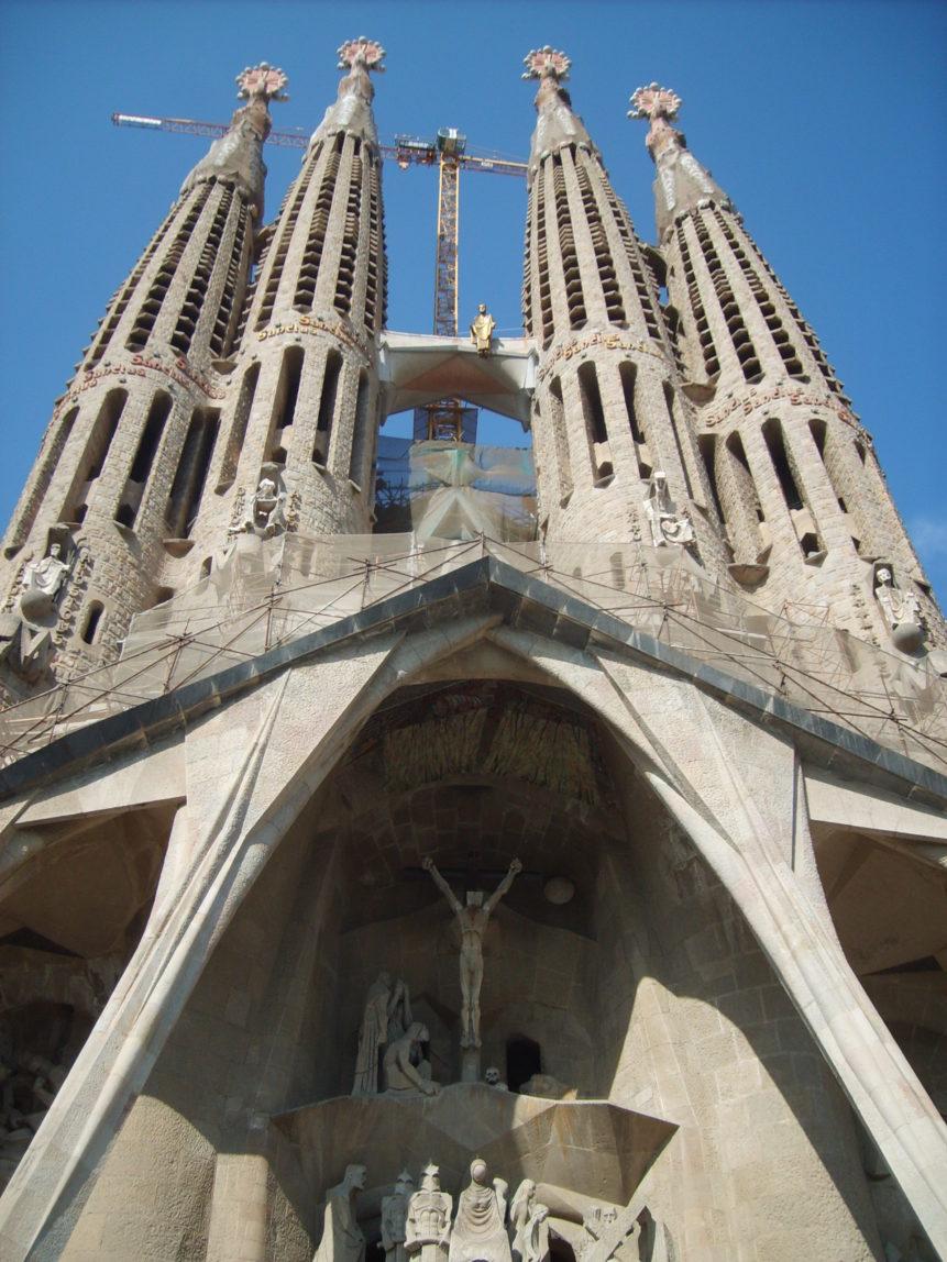 Free photo: Sagrada Família in Barcelona