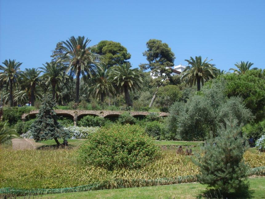 Free photo: Park Güell in Barcelona
