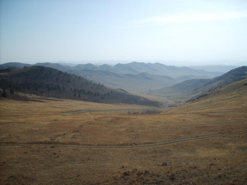 Free photo: Mongolian landscape - steppe