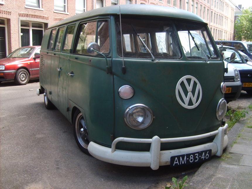 Free photo: VolksWagen Bus Type 2