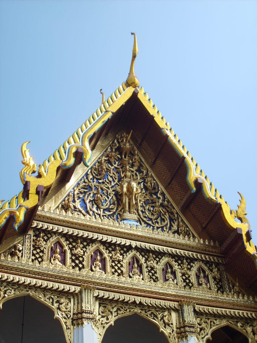 Free photo: Photo of buddhist temple in Bangkok