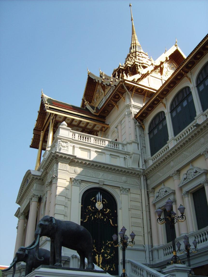Free photo: Photo of Kings palace in Bangkok