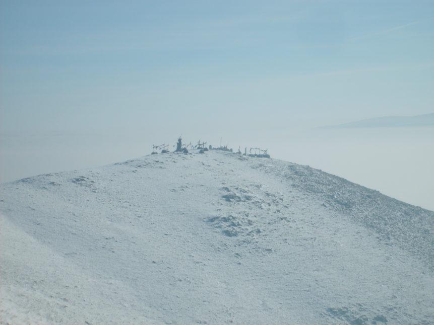 Free photo: Mongolian sacred mountain in Ulaanbaatar