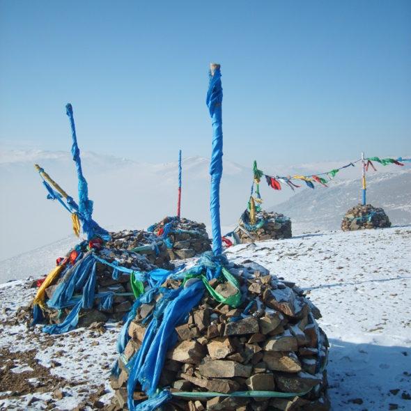 Mongolian shaman place