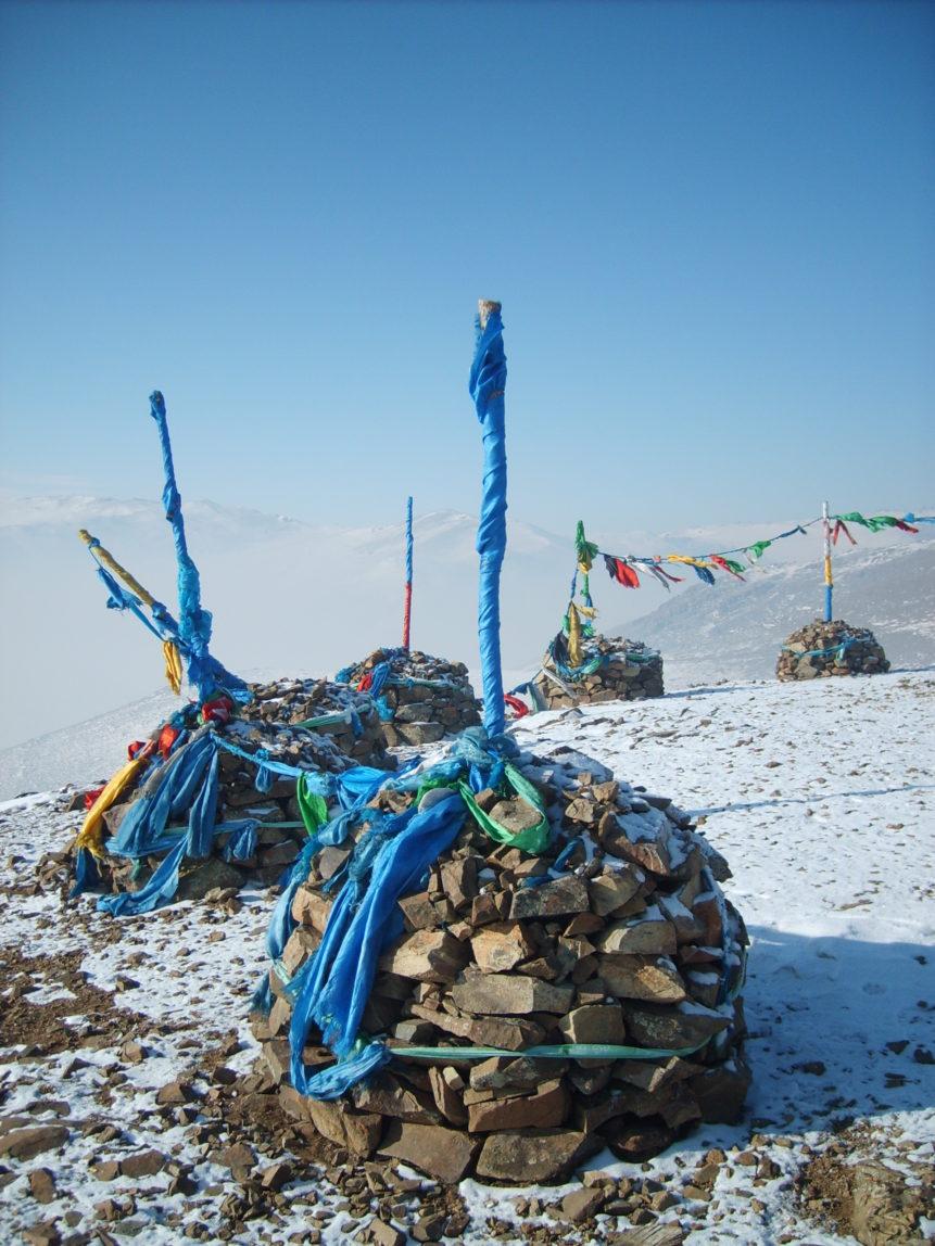 Free photo: Mongolian shaman place