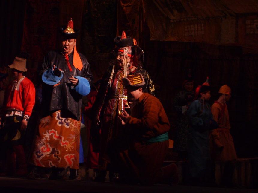 Free photo: Modern mongolian opera