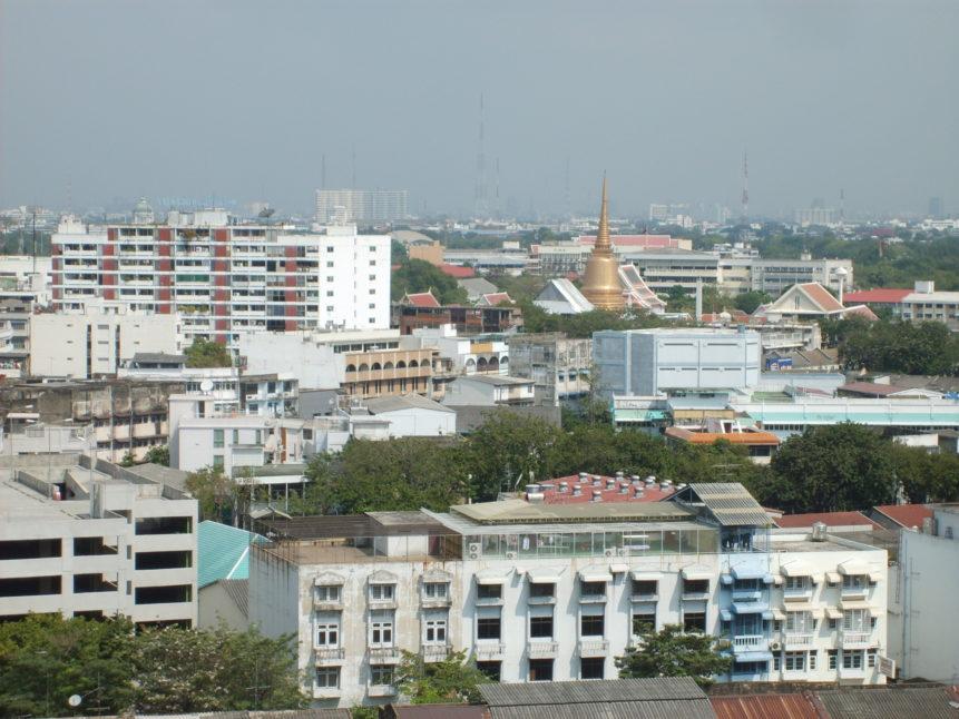 Free photo: View of the city of Bangkok.