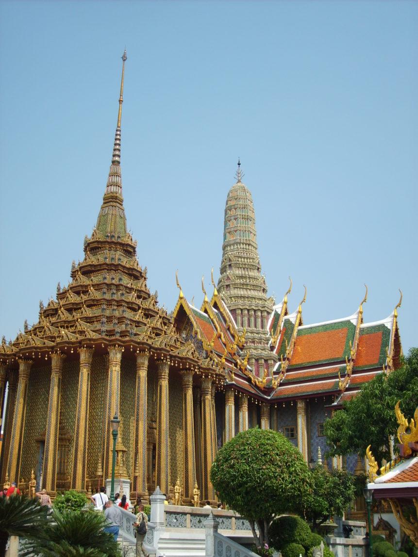 Free photo: Phra Mondop - Temple of the Emerald Buddha