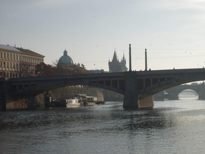 Free photo: Prague - Vltava river