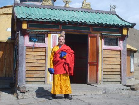 Mongolian buddhist monk