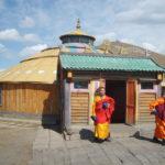 Mongolian buddhist temple
