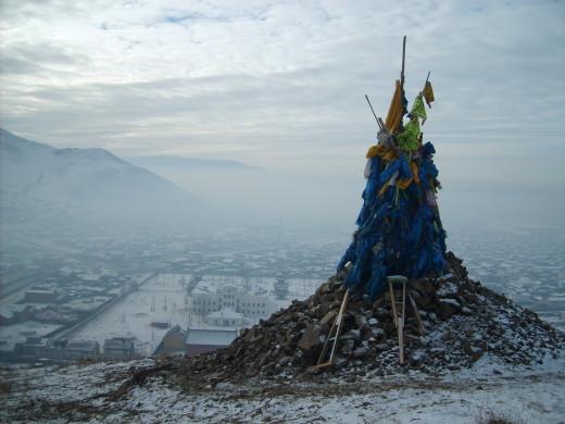 Mongolian Ovoo