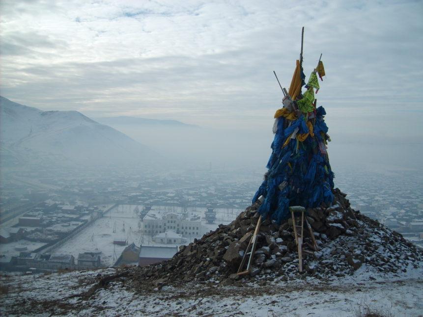 Free photo: Mongolian Ovoo