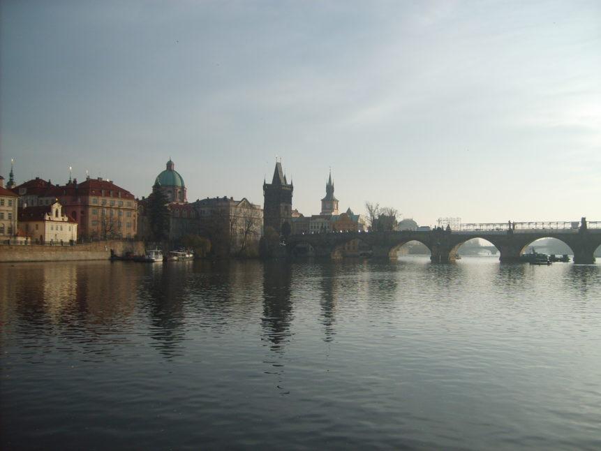 Free photo: Charles bridge in Prague