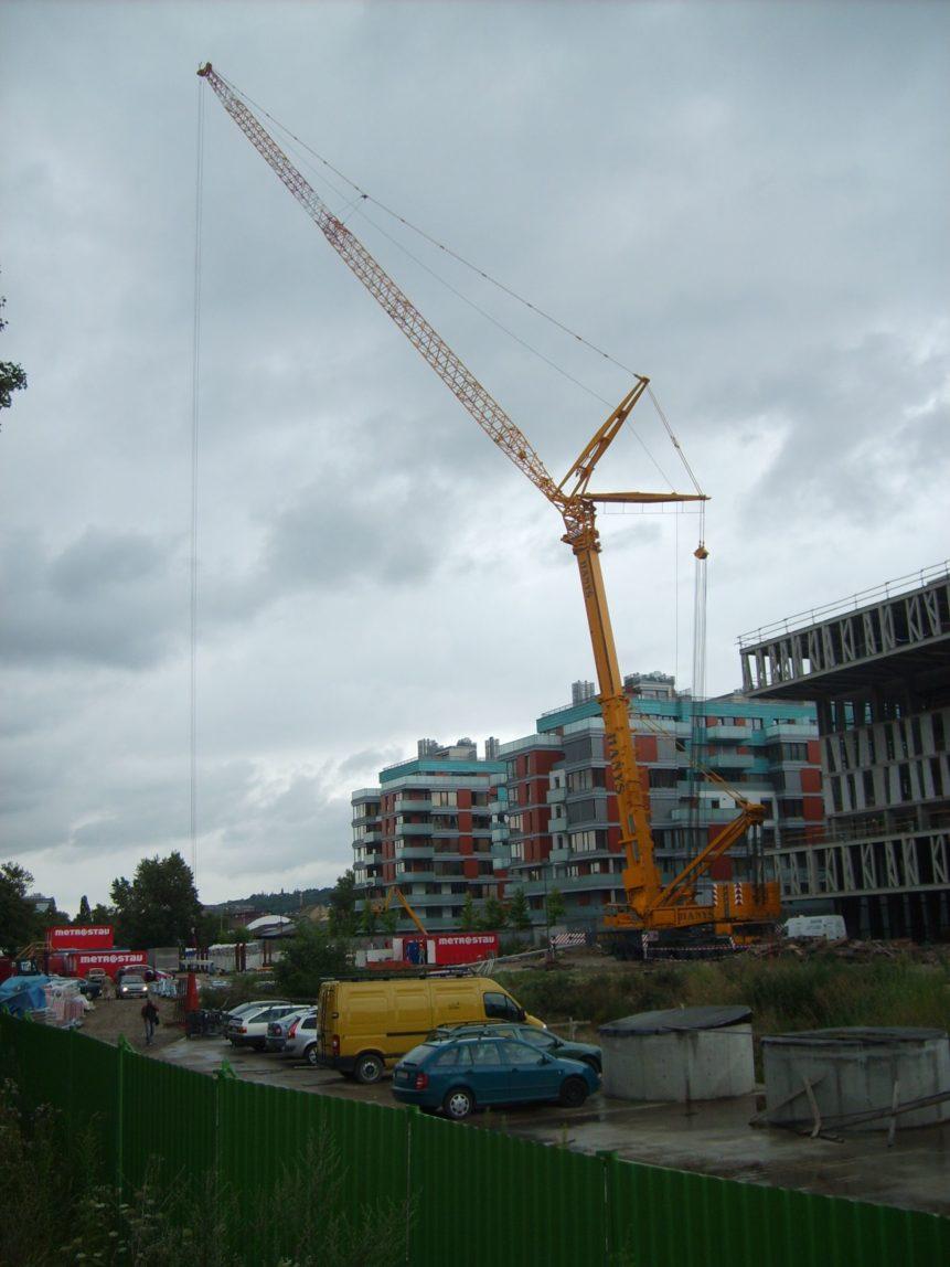 Free photo: Construction crane