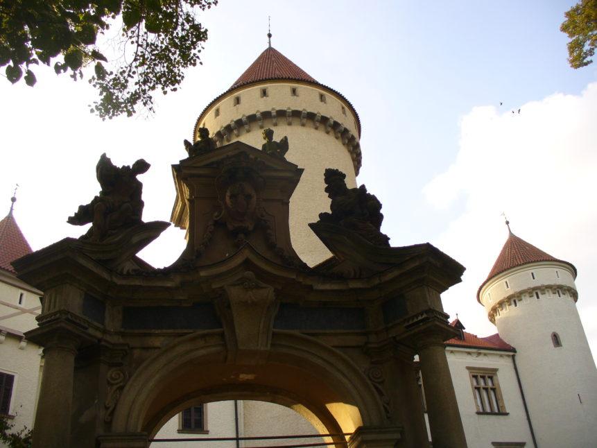 Free photo: Konopiště Chateau in Czech republic