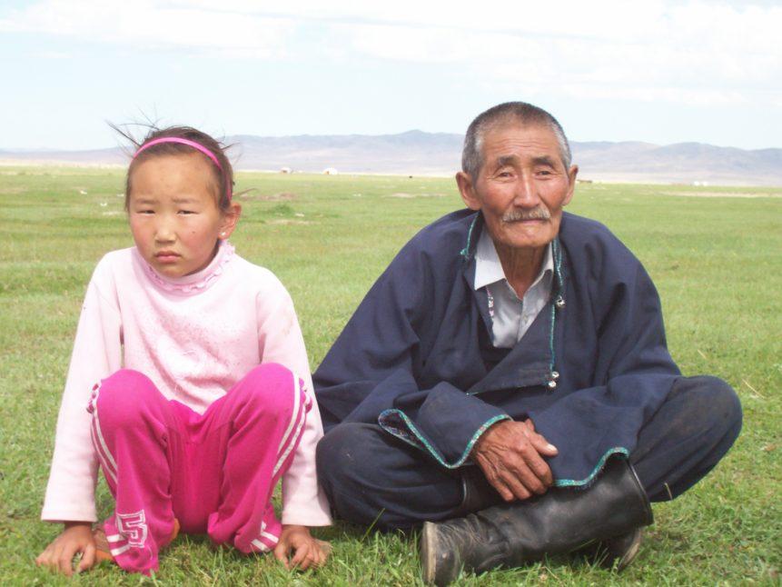 Free photo: Mongolians