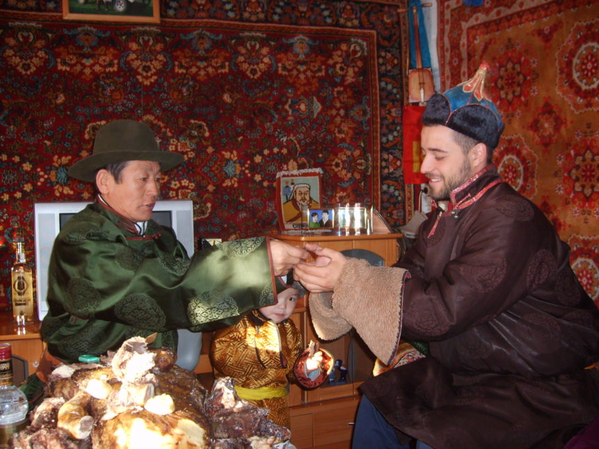 Free photo: Mongolian new year ceremony