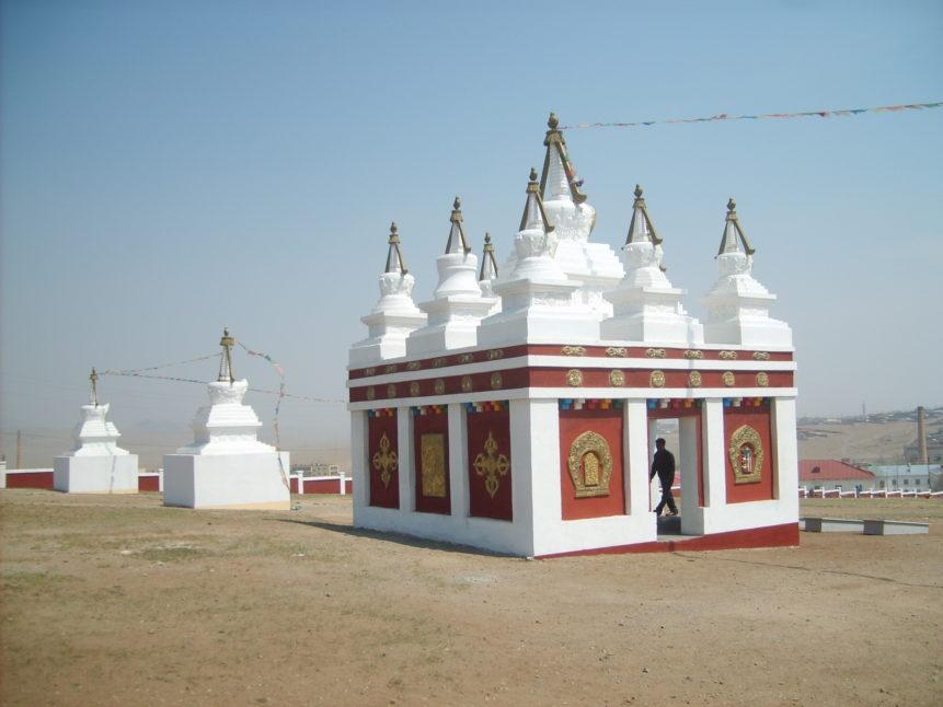 Free photo: Mongolian stupa