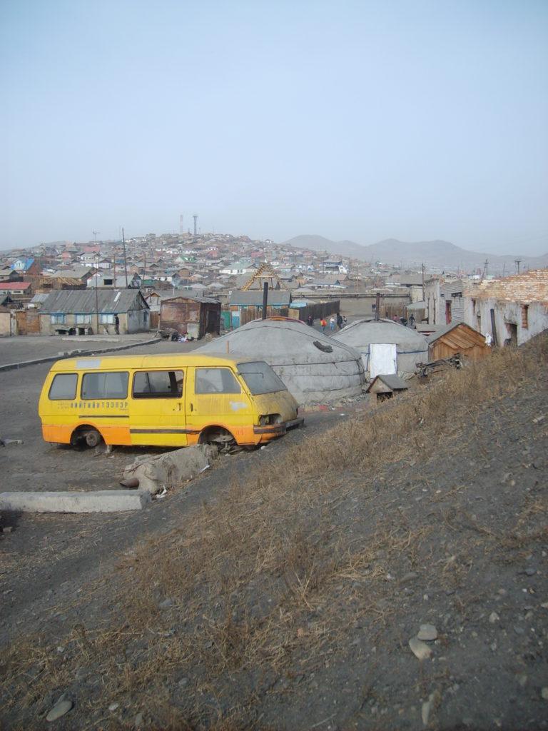 Free photo: The suburb of Ulaanbaatar, Mongolia.
