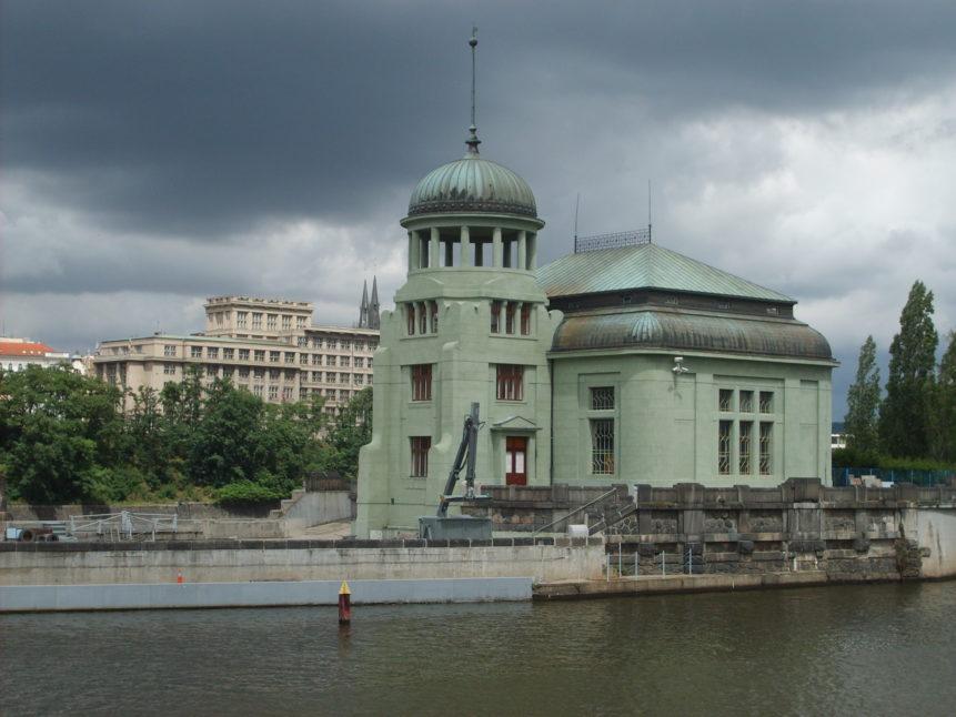 Free photo: Water Power Station in Prague