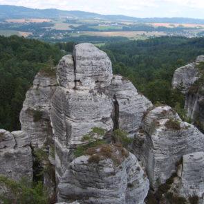 Rock city in Czech republic