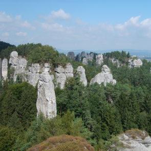 Rock city in Czech Eden