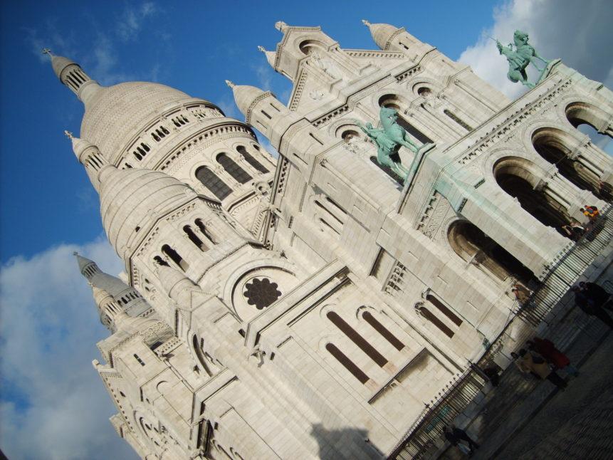 Free photo: Sacré-Cœur Basilica in Paris