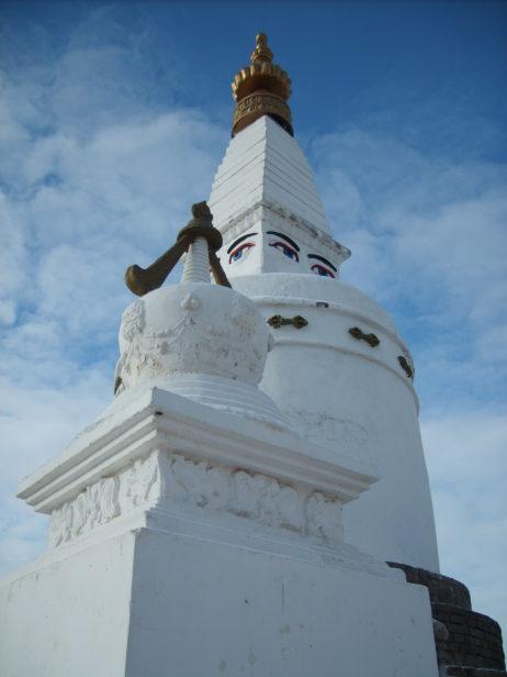 Buddhas eyes