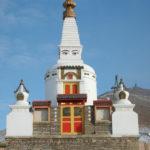 Stupa with Buddhas Eyes
