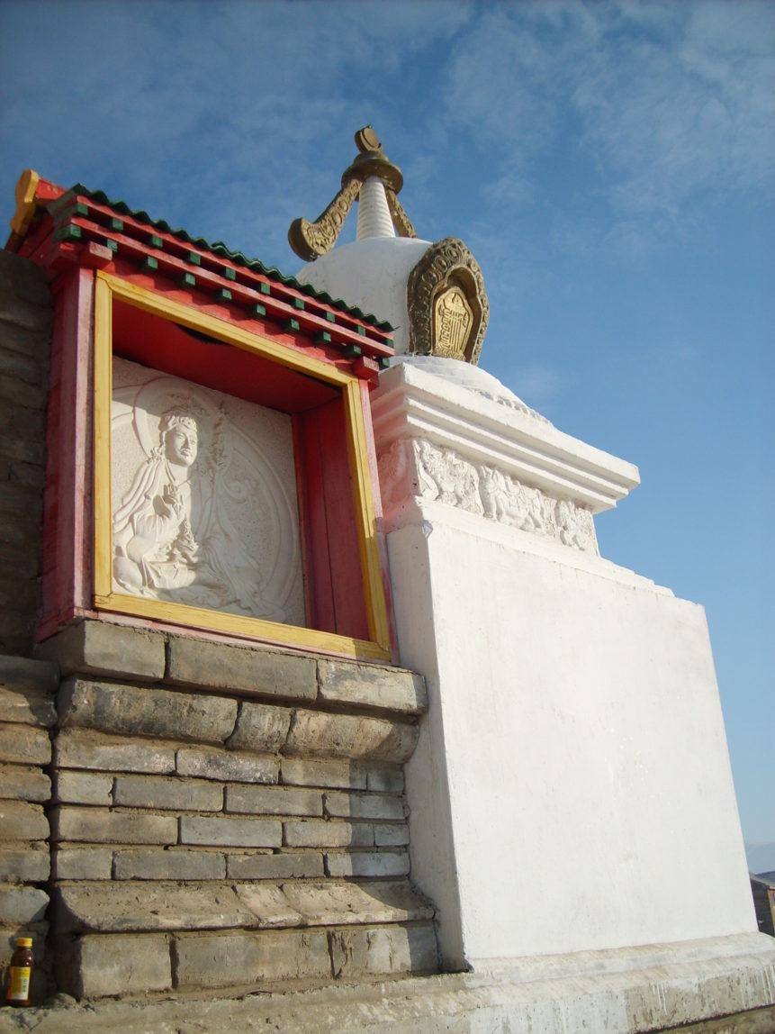 Free photo: Buddhist stupa