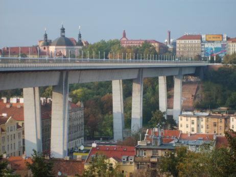 Nusle bridge in Prague