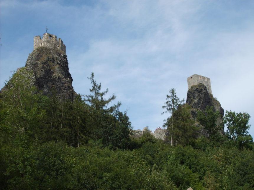 Free photo: Trosky castle Czech