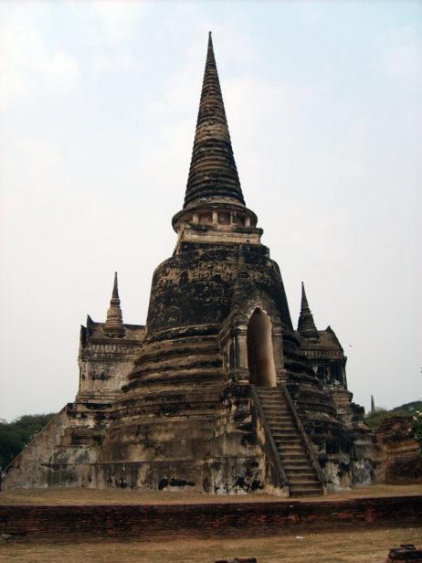 Ayutthaya buddhist complex in Thailand