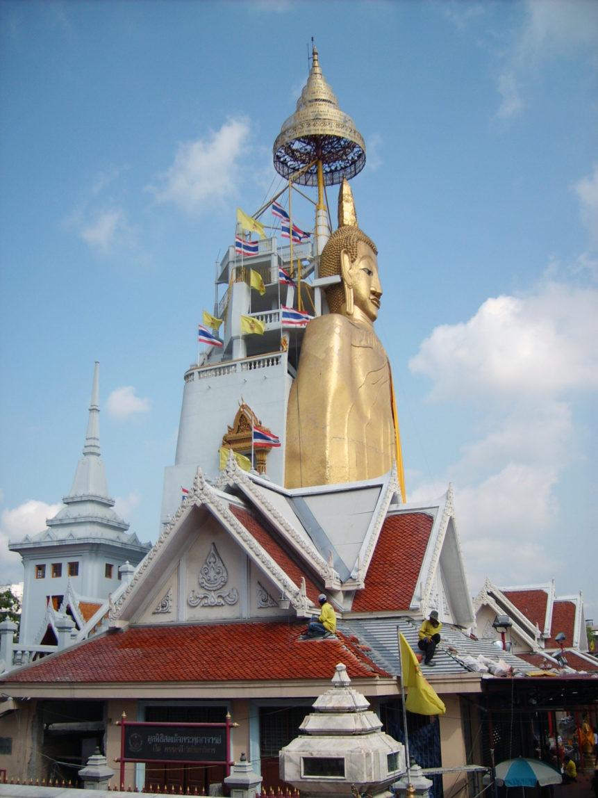 Free photo: Buddha statue in Bangkok
