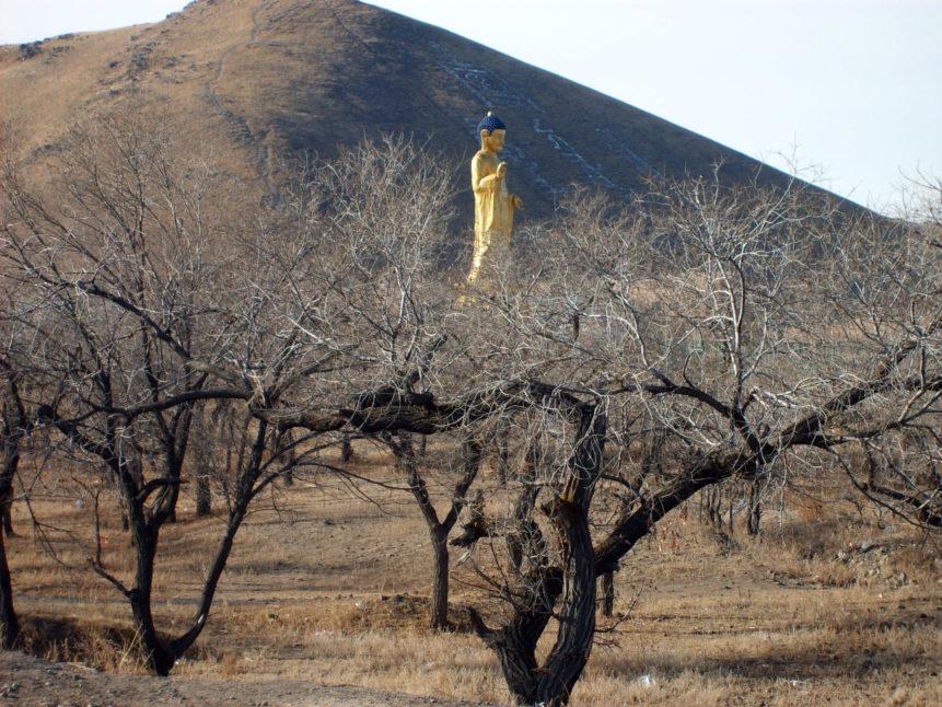 Free photo: Buddha statue in Mongolia