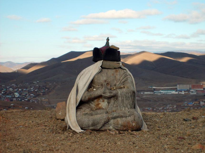 Free photo: Small Buddha statue in Ulaanbaatar