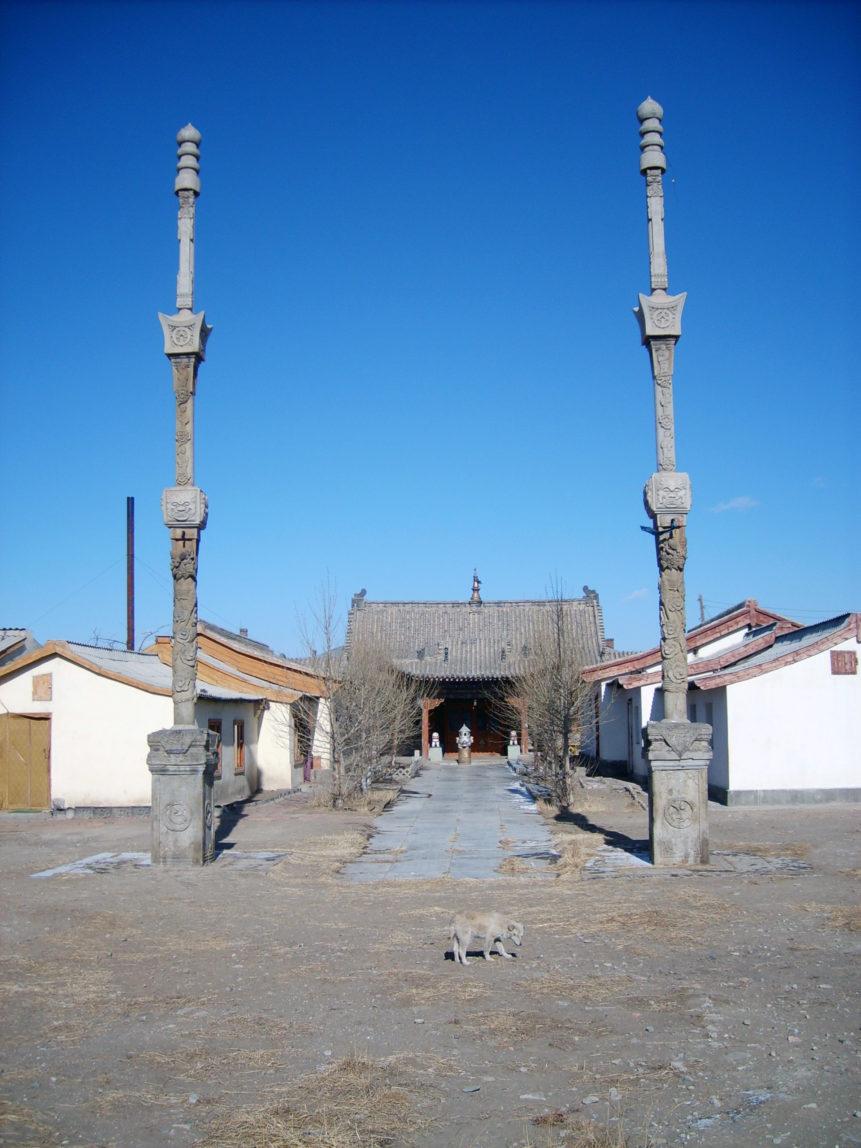 Free photo: Buddhist nunnery in Mongolia