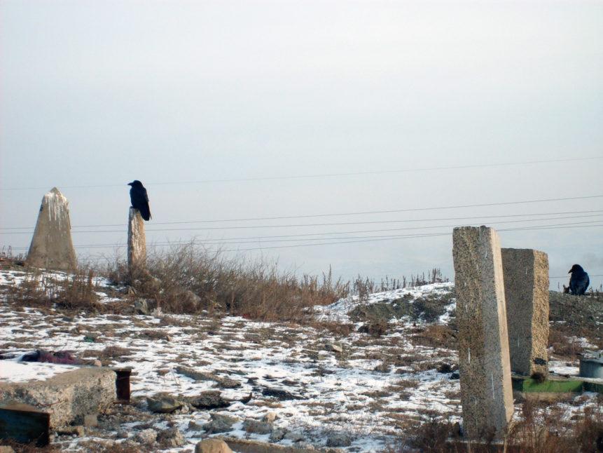 Free photo: Cemetery in Ulaanbaatar - Mongolia