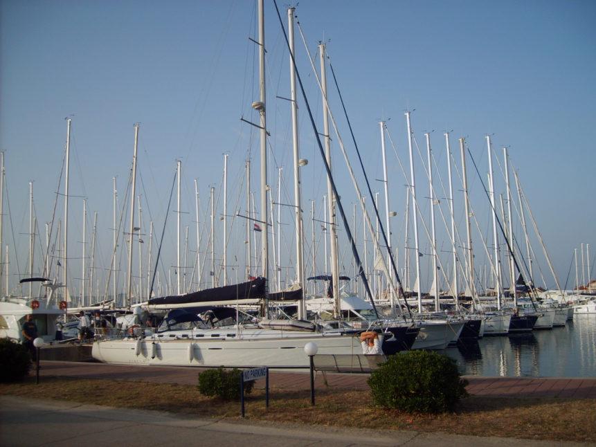 Free photo: Seaport in Croatia