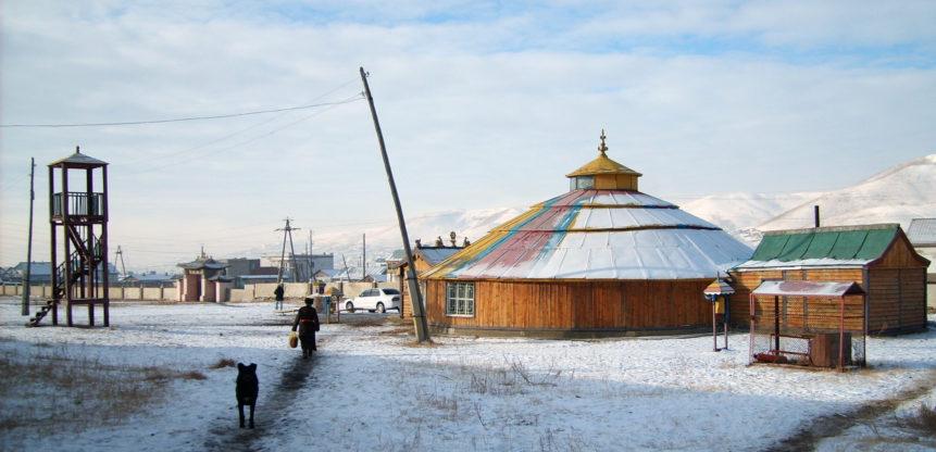 Free photo: Dambadarjaa monastery in Ulaanbaatar