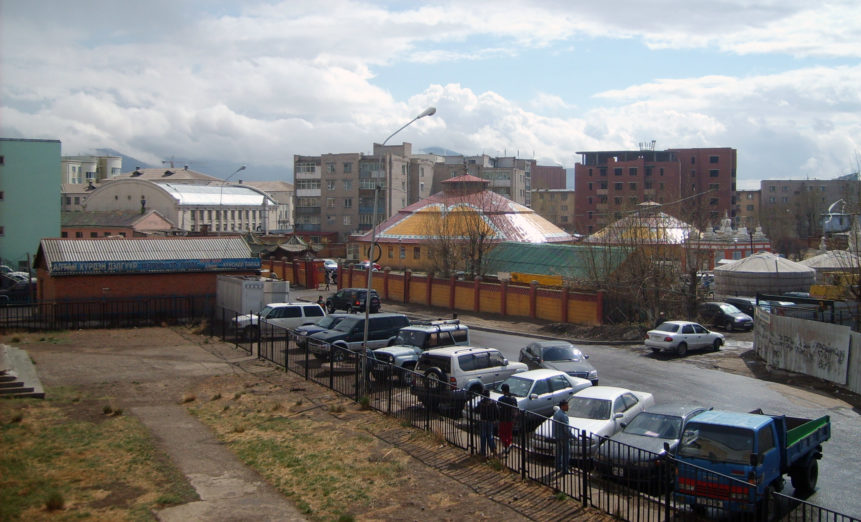 Free photo: Dashchoilin monastery in Ulaanbaatar