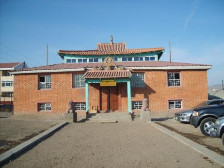 Buddhist monastery in Ulaanbaatar