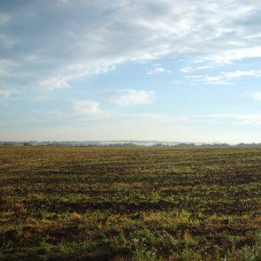Czech field in autmn