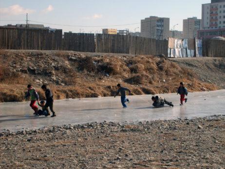 Children in Ulaanbaatar